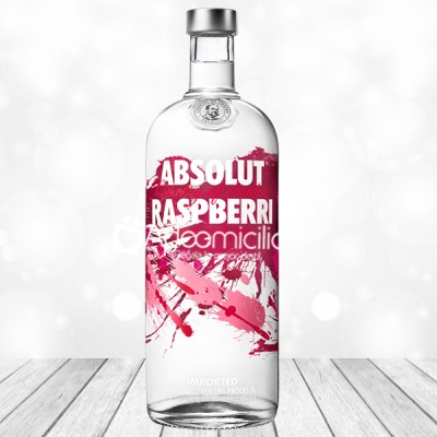 Regalos con licor a domicilio en Cali Vodka Absolut Raspberri 750 ml